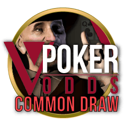 VPoker Odds Common Draw